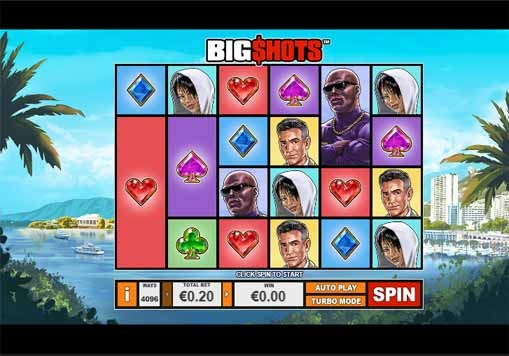 Big Shots Slot Reels