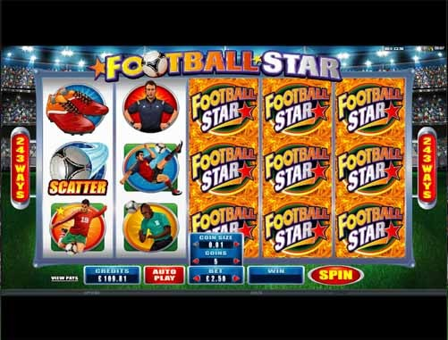 Football Star Slot Reels