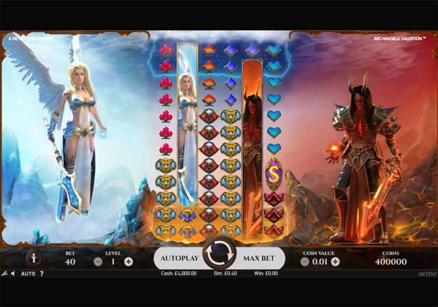 Archangels Salvation Slot Reels
