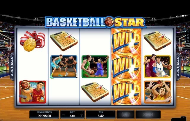 Basketball Star Slot Bonus